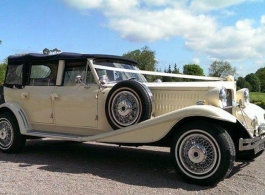 White Beauford for wedding hire in Henley